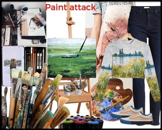 Paint away monotony
