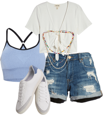 A Sarah Cameron inspired outfits.
