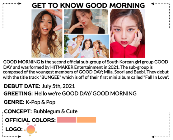 GOOD DAY (굿데이) [GOOD MORNING] Get To Know