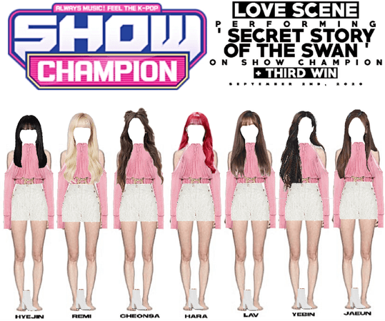 LOVE SCENE | 200902 SHOW CHAMPION STAGE | 'SECRET STORY OF THE SWAN' + THIRD WIN