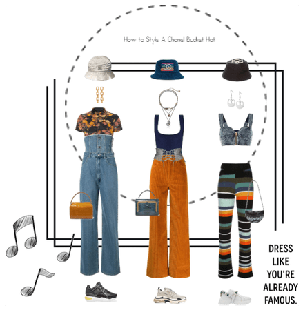 How to Style A Chanel Bucket Hat