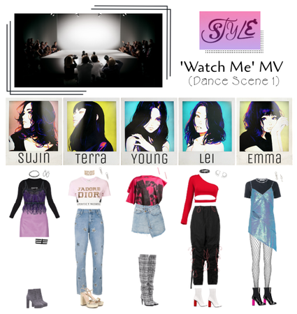 Watch Me MV (Dance Scene 1)