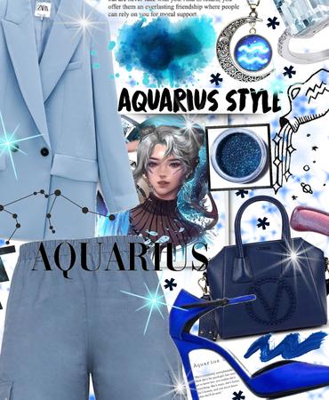 blue Aquarius ♒️