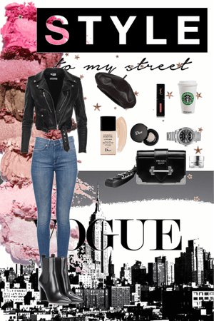 Casual outfit for girls who wanna be queens go the street