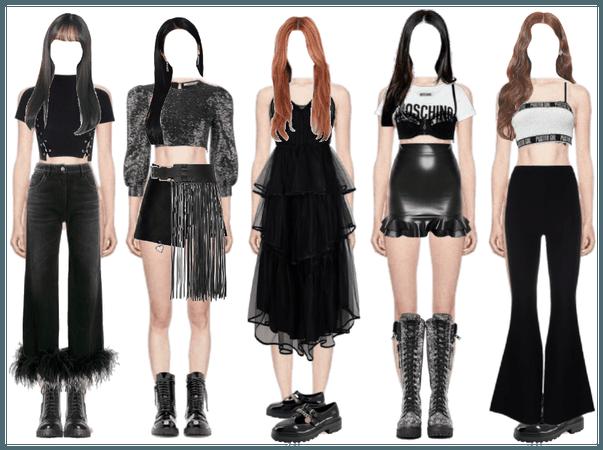 black dress clc