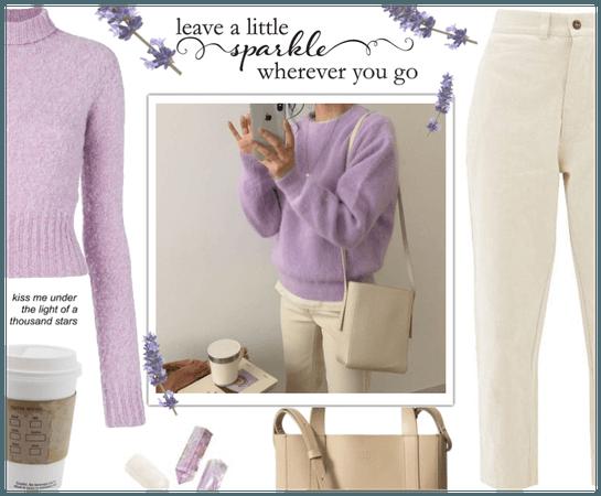 ♡ Purple look #1 ♡