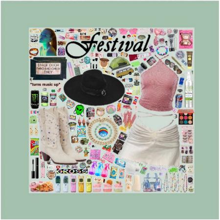 music festival 🍡🎼🎡🛍