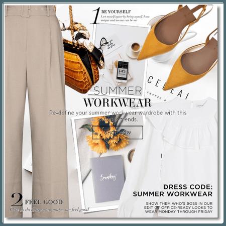 Dress Code: Summer Workwear