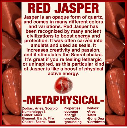 A GUIDE TO RED JASPER