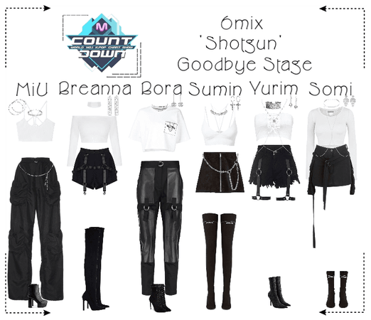 《6mix》MCountdown Goodbye Stage 'Shotgun'