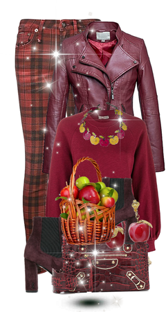 Get The Look: Apple Picking