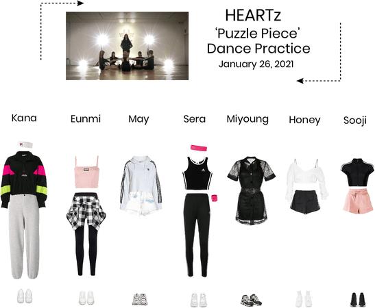 HEARTz//'Puzzle Piece' Dance Practice