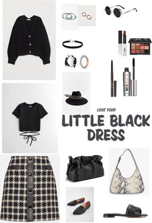 All in Black look