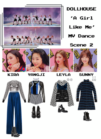 {DOLLHOUSE} 'A Girl Like Me' MV Dance Scene 2