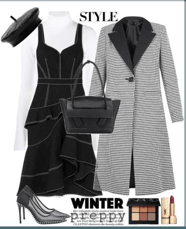 Winter Preppy Style