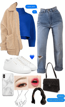 yeri's group date outfit for bookstore dates