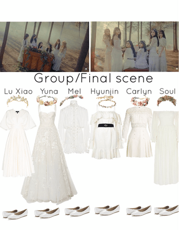 Secret MV- final group scene