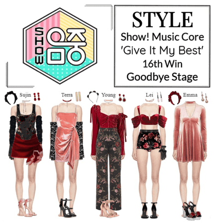STYLE Show! Music Core 'Give It My Best' Goodbye