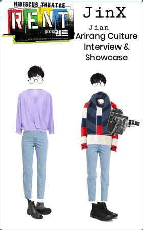 JinX Jian Arirang Culture Interview & Showcase