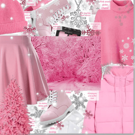 Pink Monochrome Winter