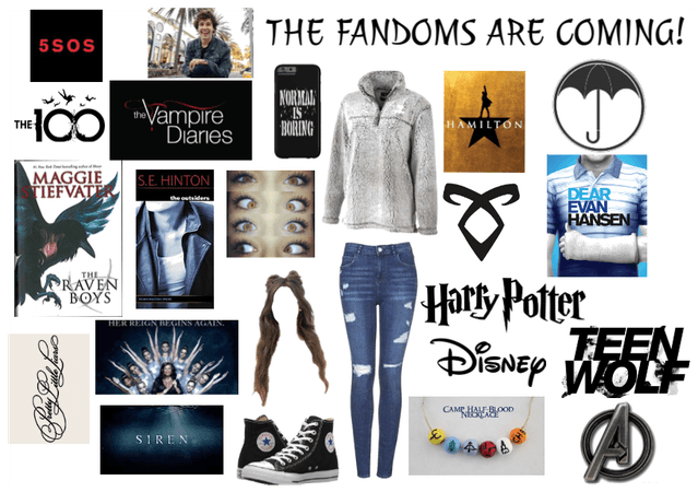 The fandoms are coming!
