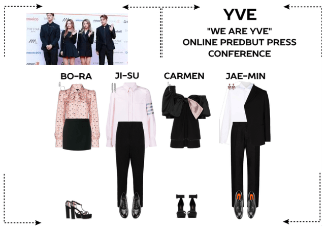 """YVE """"WE ARE YVE"""" VIRTUAL PREDEBUT PRESS CONFERENCE"""