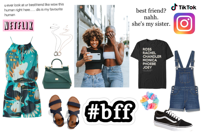 Out With Your Bestie- Summer Edition