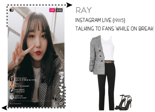[THE EMPRESSES] RAY INSTAGRAM LIVE