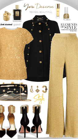Gold and Black