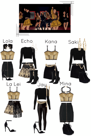Black Dress MV- Second dance scene