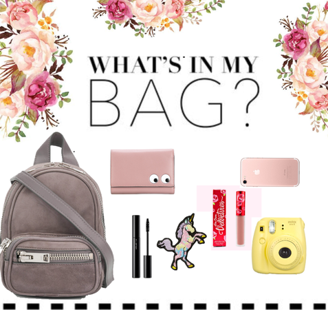 What's in my bag..?