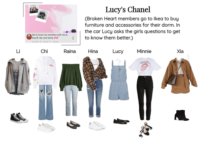 Lucy's Chanel video 'Get to know my memberwith me'