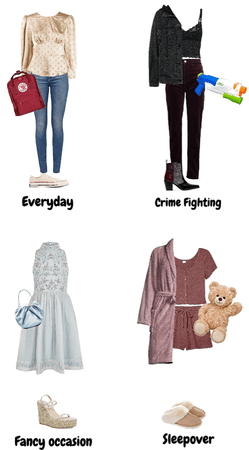 What I Would Wear as a Cartoon Character
