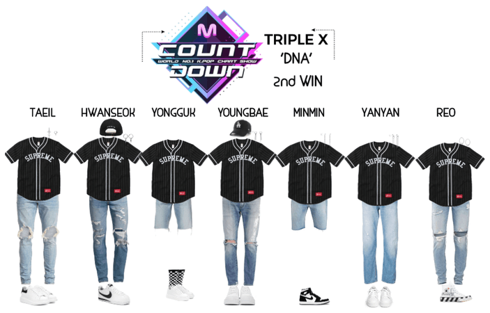 {TRIPLE X} 'DNA' 2nd Win