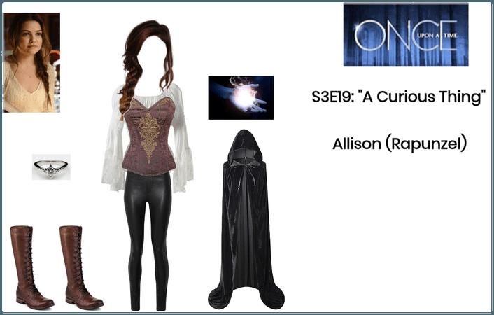 """OUAT: S3E19: """"A Curious Thing"""" - Allison/Rapunzel"""