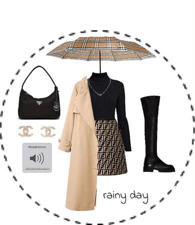 rainy work day