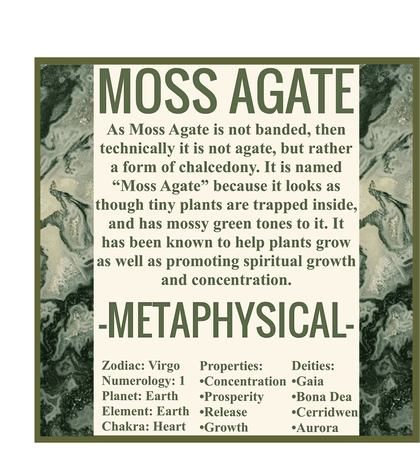 A GUIDE TO MOSS AGATE