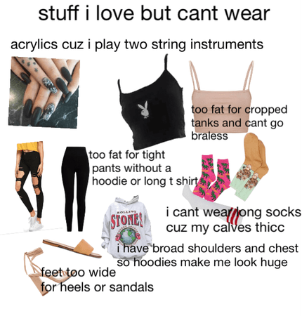 stuff i love but can't wear