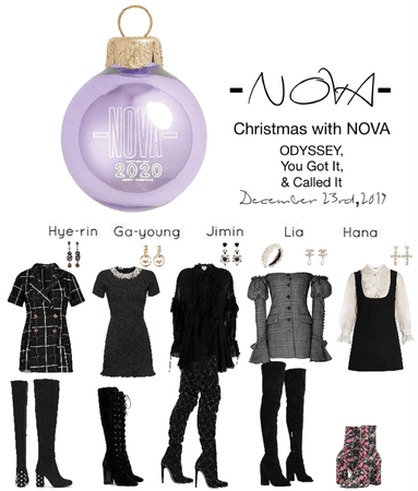 -NOVA- Christmas with NOVA- ODYSSEY, Called It, & You Got It