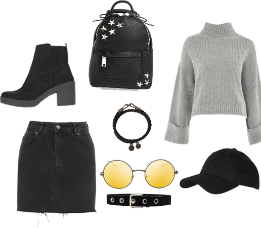 Punk school look(Cheaper)