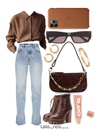 Brown Chocolate Outfit
