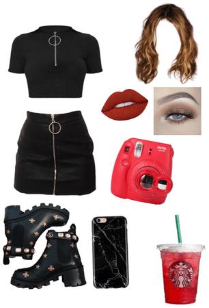 black red 🖤❤️
