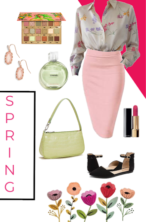 Pencil Skirt for Spring