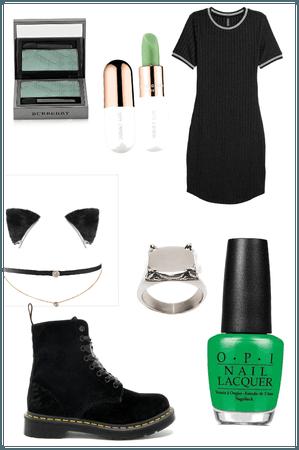 Chat noir inspired