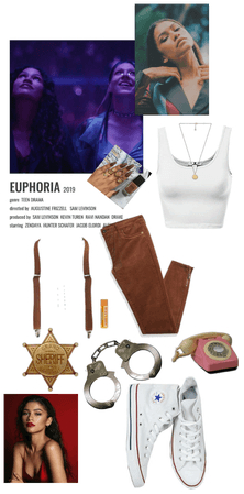 Zendaya's outfit in euphoria