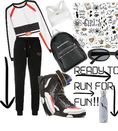 Ready to Run for Fun!!