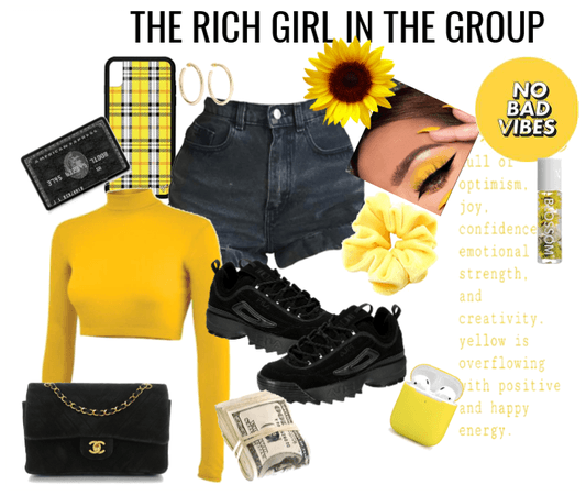 THE RICH GIRL IN THE GROUP