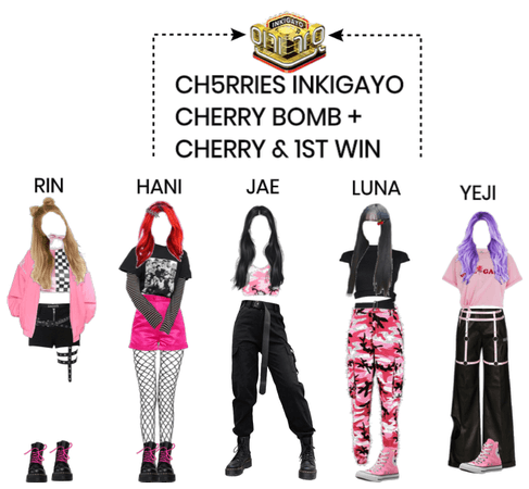 [INKIGAYO] CH5RRIES CHERRY BOMB 1ST WIN