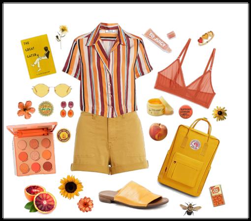 Blood Orange + Yellow
