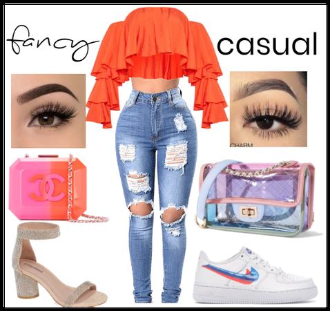fancy/casual